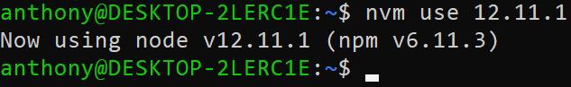 node js linux