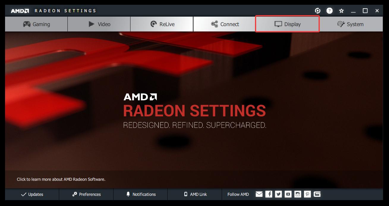 adjust screen resolution windows 10