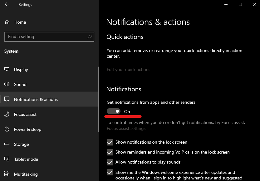 taskbar not hiding in fullscreen windows 10