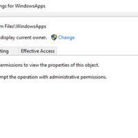 Access to Windows 10 Folder