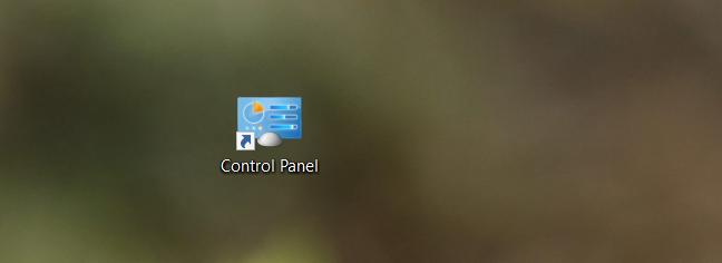 windows 10 control panel location