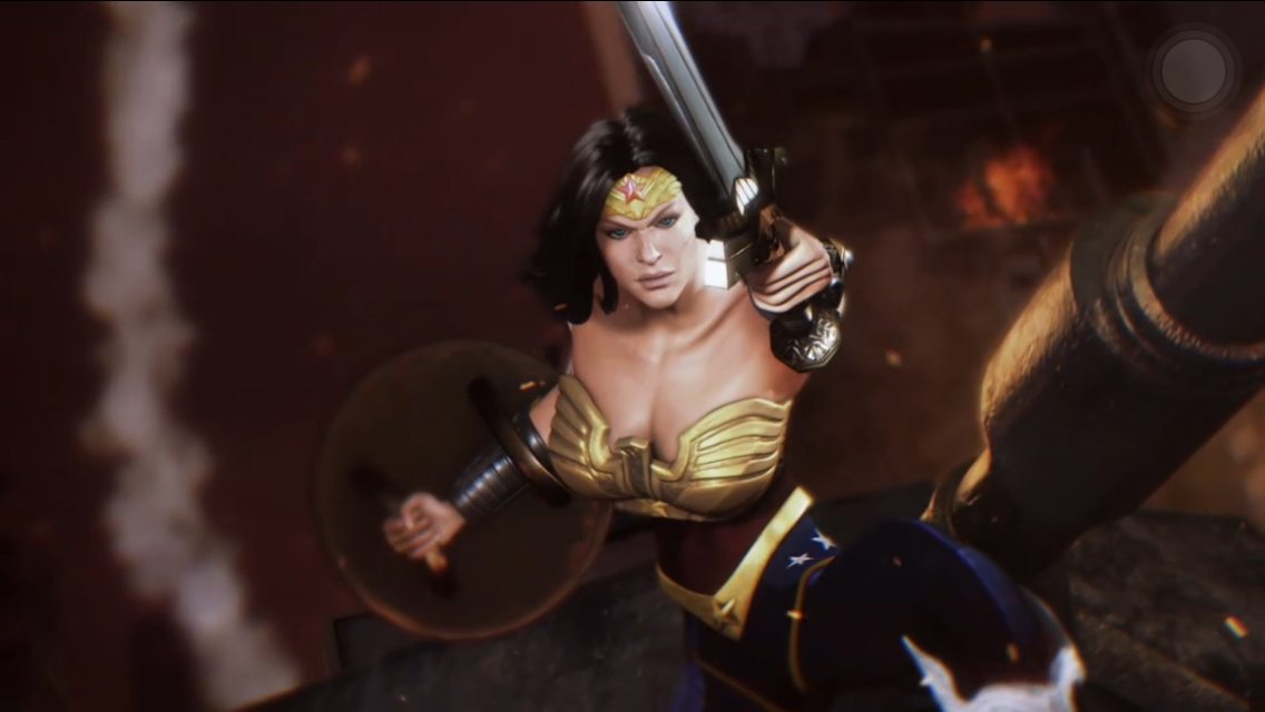 Injustice Gods among us for iphone and android
