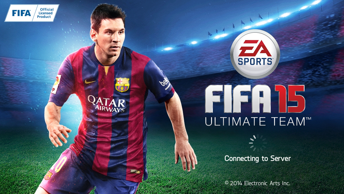 Download Fifa 15 ultimate team free for iPhone