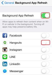 How to increase iOS 8 battery life