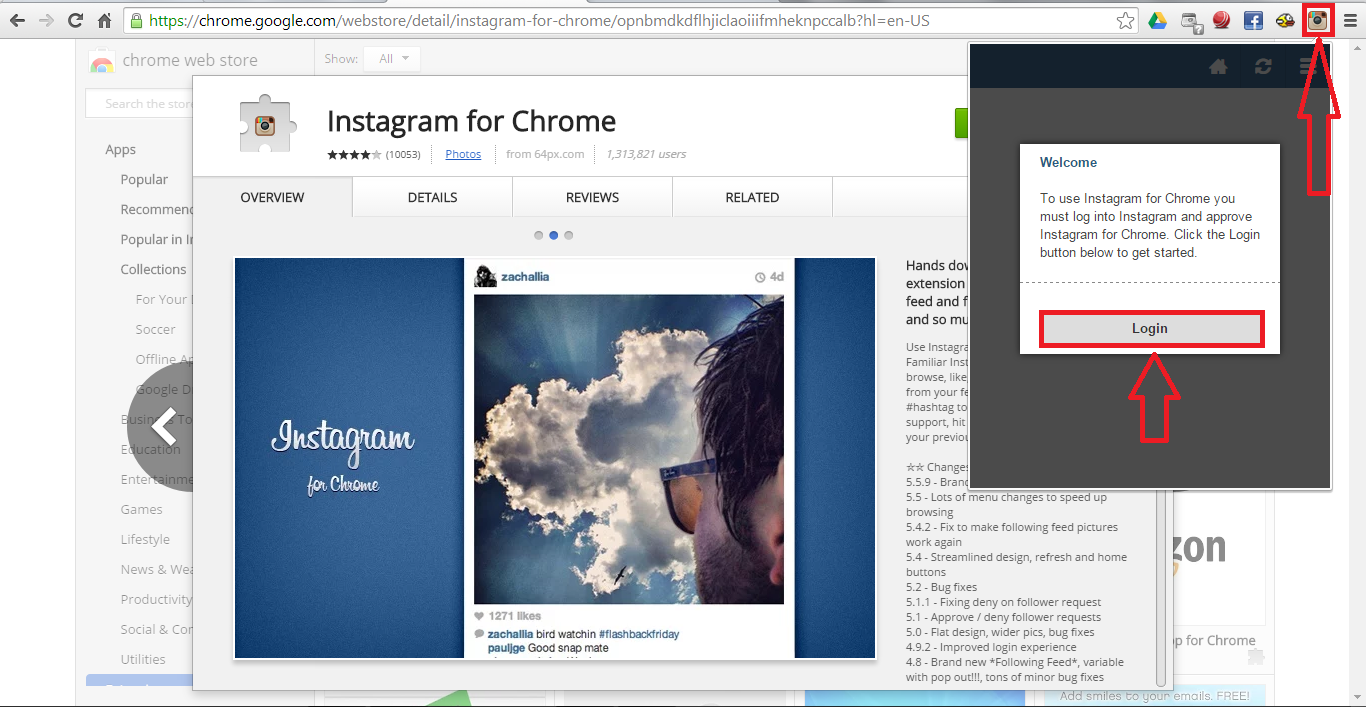 how to add instagram from computer image collections   how