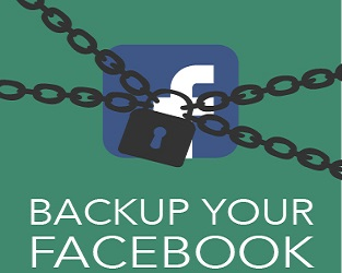 backup facebook profile data