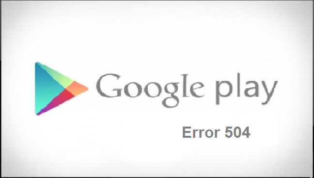 error 504 in android