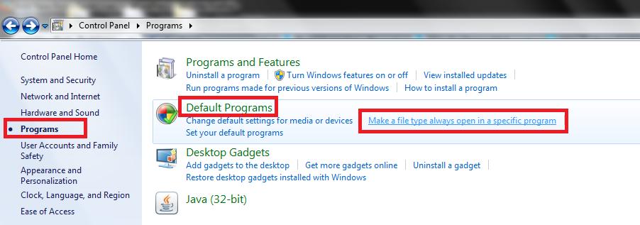How To Change Mailto Behavior in Windows 7 /8