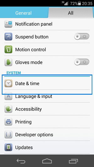 rh-01 date and time settings