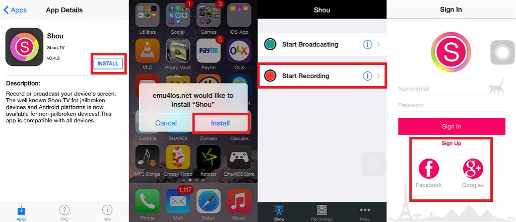 How To Record Screen in iPhone, iPad, iPod