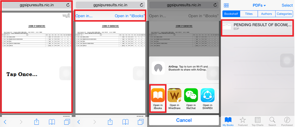 How To Download Pdf Files in iPhone