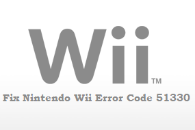 How To Fix Nintendo Wii Error Code 51330