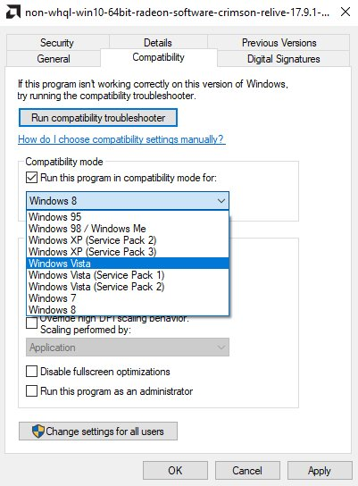 code 28 compatibility mode drivers