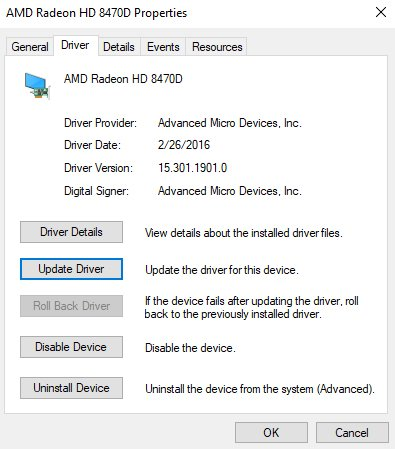 code 28 update drivers