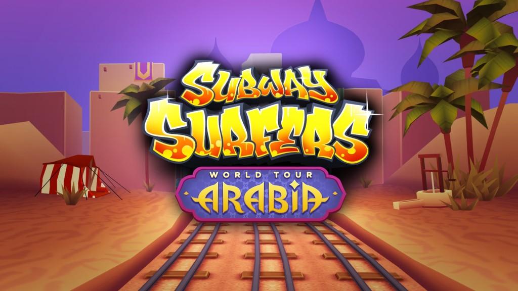 Download Subway Surfers Arabia Mod APK-Unlimited Coins & Keys Hack