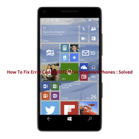 Error Code 80072f8f in Windows Phones