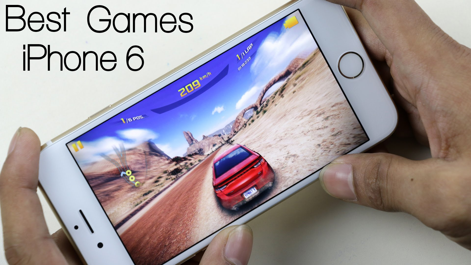 Top Five Free Games For iPhone 6s