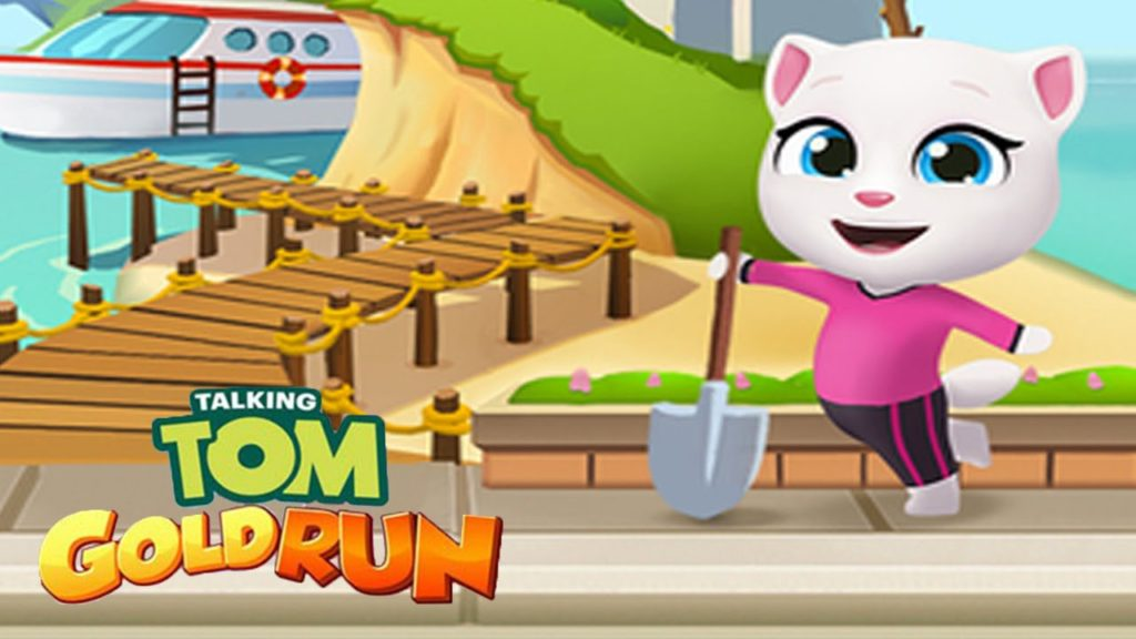 Talking Tom Gold Run apk file
