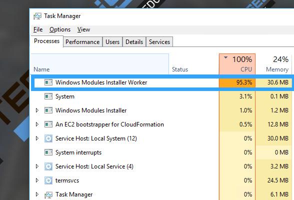 how to delete modules on windows 10