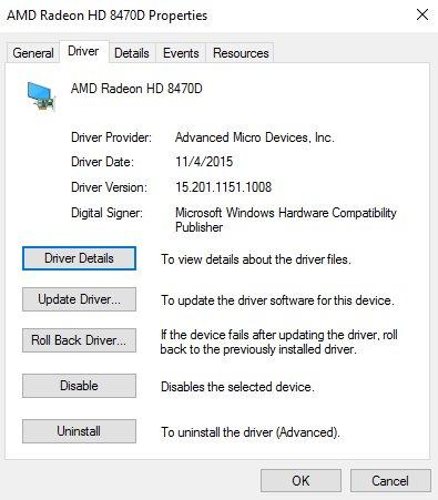 drivers version