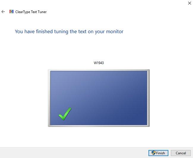 tuning monitor windows 10