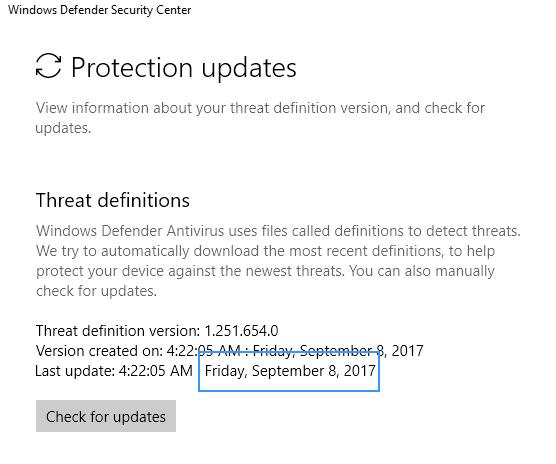 0x80070643 windows defender definitions update