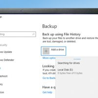 file history backup cover